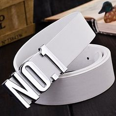 Mens No.1 Design Stylish Leather Belt (5 Colours)