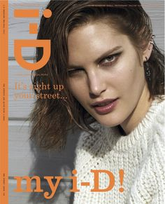 "Catherine McNeil photographed by Collier Schorr for i-D ""The Street Issue"" Pre-Fall 2013"
