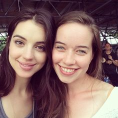 Adelaide Kane and Anna Popplewell from Reign.
