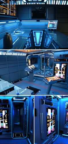 A Look at the Real-Life Star Trek Apartment Tec Nave Enterprise, Star Trek Tos, Star Wars, Star Trek Bridge, Star Trek Images, Nerd Cave, Star Trek Original, Home Theater Rooms, Star Trek Ships