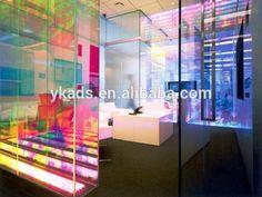 Hot Sale Beautiful Iridescent Acrylic Sheet Fluorescent dichroic acrylic