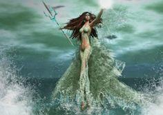 Amphitrite Goddess of The Sea - Goddess, Water, Female, Water Sea