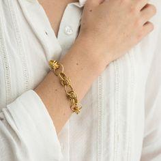 Gold link bracelet, Gold toggle bracelet, Statement Loop gold bracelet for women, Bridal bracelet, Fine solid gold Cheap Bracelets, Dainty Bracelets, Ankle Bracelets, Gold Bangles, Link Bracelets, Bracelets For Men, Fashion Bracelets, Beaded Bracelets, Statement Bracelets