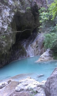 Nidri waterfall, Lefkada, Greece, last week <3