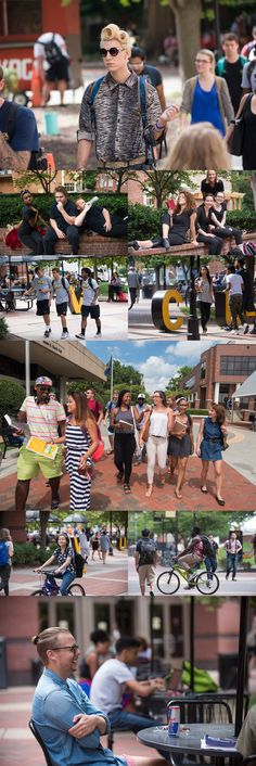 Fresh faces, fresh wears, fresh hair - 2015-16, let's do this. | #VCU First Day