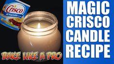 Magic Crisco Shortening Candle Recipe