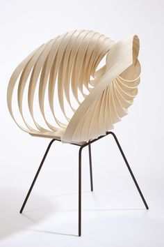 PART I: The Best of New York Design Week 2015   The Yumi Chair, designed by Laura Kishimoto, is part of an ongoing exploration in form...