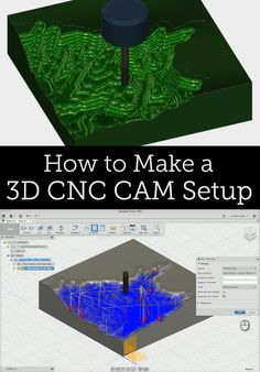 Learn the process of taking any 3D surface made in Fusion 360 and making a 3D milling CAM setup to prepare it for a CNC machine.