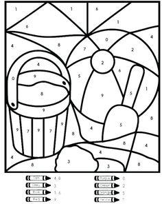 Color by Number Worksheets Kindergarten. 20 Color by Number Worksheets Kindergarten. Color Number Kindergarten Coloring Pages Printables for Number Worksheets Kindergarten, Summer Worksheets, Math Coloring Worksheets, Seasons Worksheets, Kindergarten Colors, Worksheets For Kids, Printable Worksheets, Free Printable, Printable Coloring