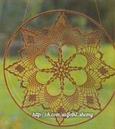 Bildergebnis für mandalas tejidos al crochet patrones Crochet Butterfly Pattern, Crochet Mandala, Crochet Motif, Crochet Doilies, Doily Patterns, Mandala Pattern, Crochet Patterns, Dream Catcher Pink, Feather Dream Catcher