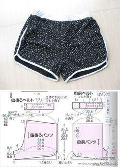 俺的短裤(有裁剪图)