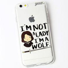 Capinha para celular Um Lobo