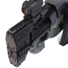Laylax NITRO.Vo P90 Armored Rail System | Popular Airsoft