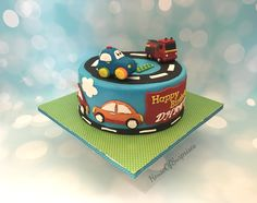 Fire truck , cars for 2 year old birthday party  Modeling chocolate toppers