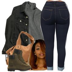 A fashion look from December 2016 featuring American Apparel jackets, Timberland ankle booties and Clare V. messenger bags. Browse and shop related looks.