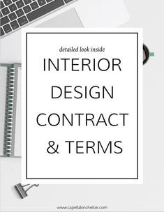 Your interior design contract is the singular most important document in your in. Your interior design contract is the singular most important document in your in… Ihr Inne Interior Design Business Plan, Learn Interior Design, Interior Design Presentation, Interior Design Courses, Door Design Interior, Business Design, Interior Decorating, How To Become An Interior Designer, Interior Design Quotes