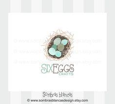 OOAK Premade Logo Design - Six Eggs