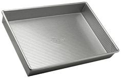 USA Pan Bakeware Aluminized Steel Rectangular Cake Pan ** Startling review available here at : Baking pans