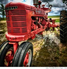 Who doesn't love a red Farmall tractor? Photography by Todd McPhetridge