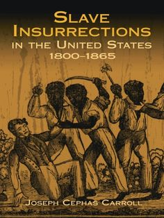 Fully documented work describes early insurrectionary movements, rebellions at sea, and the Negro's role in the American Revolution. Discussed in detail are Denmark Vesey's 1822 insurrection, Nat Turner's 1831 rebellion, and other uprisings. Black History Books, Black History Facts, Black Books, African American Books, Black Leaders, History Education, African American History, Books To Read, The Unit