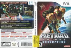 Metroid Prime 3: Corruption  (Nintendo Wii) COMPLETE!!! LN!!!