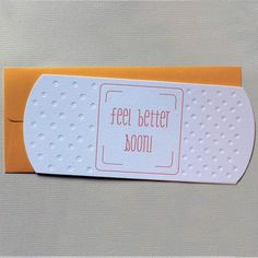 Homemade Greeting Cards, Homemade Cards, Making Greeting Cards, Card Making Inspiration, Making Ideas, Design Inspiration, Feel Better Cards, Handmade Greeting Card Designs, Handmade Greetings
