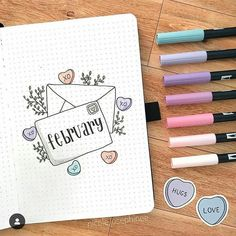 45+ Monthly Bullet Journal Cover Page Ideas - Beautiful Dawn Designs
