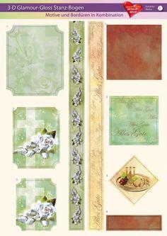 3-D GlamourGloss Bogen, kirchliche Motive, Din A4, Motiv 5