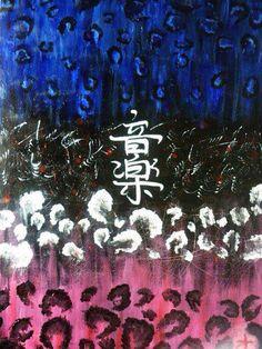 """""""Ongaku"""" Acrylic on canvas"""