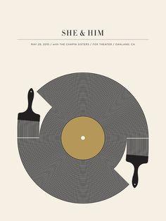 She and Him by Jason Munn.