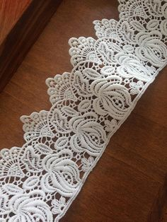 ivory lace trim crochet trim lace bridal veil lace by lacetime