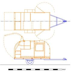 Having trouble figuring out how to build your DIY teardrop camper? Then read this article about Andrew Gibben's ANGIB's Site for DIY design inspiration. Teardrop Trailer Plans, Building A Teardrop Trailer, Teardrop Campers, Teardrop Caravan, Trailer Diy, Tiny Trailers, Camper Trailers, Travel Trailers, Truck Camper