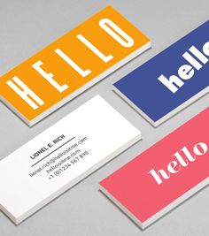 """Hello world""? Browse MiniCard Design Templates | MOO (United States)"