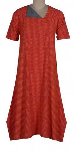 Ikat Boria Choga Dress