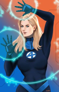 My first artwork of Susan Storm / Richards / Invisible Woman of The Fantastic The Fantastic Four is created by none other than Stan Lee (writer) Jack Kirby (artist) I always wanted to do iconic and veteran characters from Marvel and Susan just fitted Storm Marvel, Marvel Dc Comics, Marvel Heroes, Marvel Avengers, Marvel Women, Marvel Girls, Marvel Comic Universe, Marvel Cinematic Universe, Comics Universe