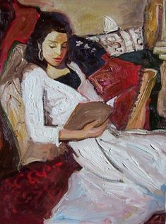 (woman reading) Brad Smith