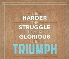 Harder better faster stronger #triumph