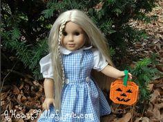 American Girl Doll Halloween Candy Bucket