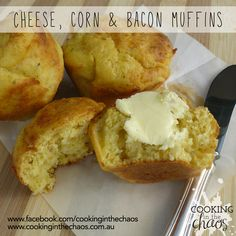 Lunchbox Food Ideas Archives - Page 2 of 2 - Cooking in the Chaos Bacon Muffins, Savory Muffins, Savory Snacks, Bacon And Butter, Multicooker, Lunch Box Recipes, Muffin Recipes, Food Ideas, Tasty