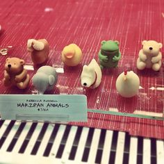 Marzipan Animals at Dean & Deluca. I love these more than I should