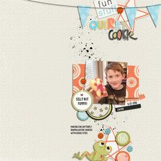 Quirky Cookie-Gina Miller Designs Quirk - ON SALE at The Lilypad all week-end, 4/8-10. https://the-lilypad.com/store/Quirk.html Also: My So Called Life - collab with Amy Martin (template)