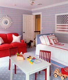preppy boys bedroom