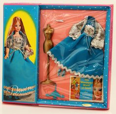 Vintage 1970s Dawn Doll Fashion Outfit Bluebelle #0722 In Original Package #Dawn #ClothingAccessories