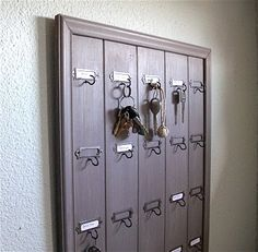 Hotel Inspired Key Rack