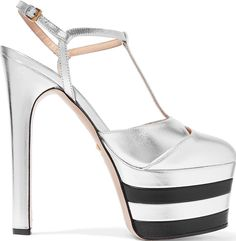 bed218ae921 Salma Hayek Regal in Gucci  Angel  Platform Heels High Platform Shoes