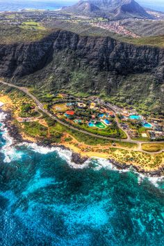 Geographic : Photo - Village somewhere in Hawaii.
