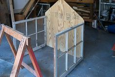An easy to make DIY Cold Frame using old windows. Plans for how to make a cold frame from old windows and keep your cold frame warm during winter. Antique Windows, Vintage Windows, Old Windows, Recycled Windows, Window Greenhouse, Small Greenhouse, Wood Mosaic, Mosaic Wall Art, Old Shutters