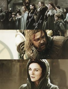 Catelyn Stark, Ned Stark, Game Of Thrones Winter, Game Of Thrones Fans, Winter Is Here, Winter Is Coming, I Love Games, The North Remembers, Tv Land
