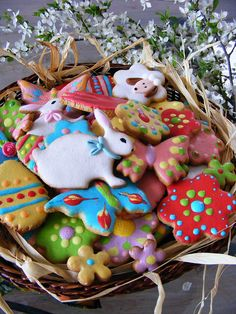 Easter cookies   Flickr - Photo Sharing!