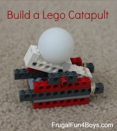 Lego Building Challenge:  Build something that will launch a ping pong ball! For those of you who enjoy participating in our Lego Fun Friday building challenges, I apologize that we have not done any in a very long time!  Unfortunately, I have hit the third trimester of pregnancy and really can't commit to anything too …